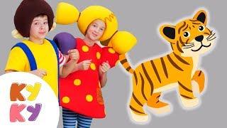 КУКУТИКИ - ЗООПАРК - Песенка про животных для детей, малышей - Funny Kids Song about Zoo