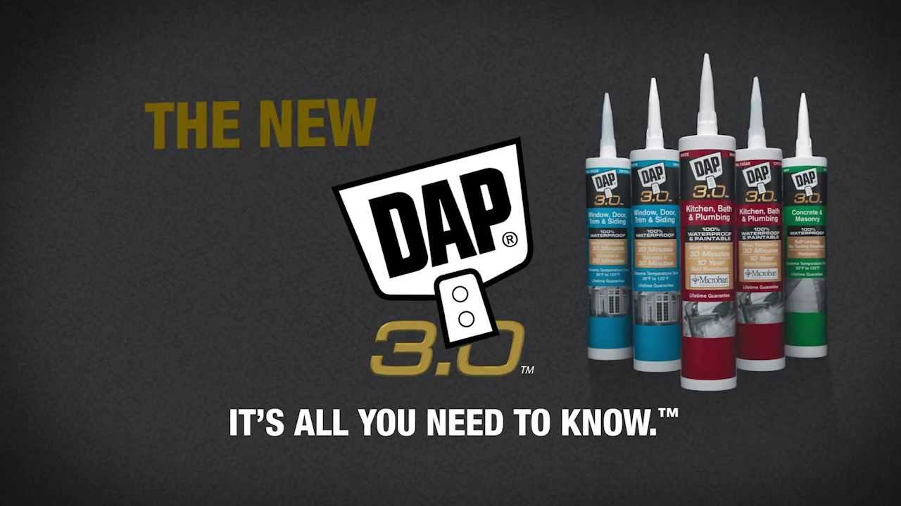 Dap 3 0 Sealants High Performance Products For Pros And
