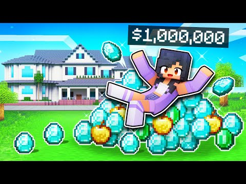 playing-on-a-millionaire-only-server-in-minecraft!