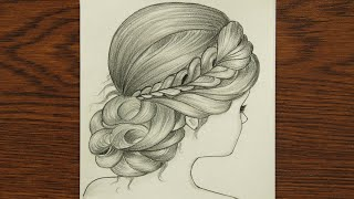 draw hair drawing easy hairstyle