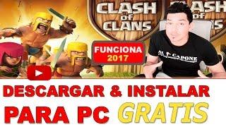 Cómo descargar Clash of Clans para PC en Español│CLASH OF CLANS PARA PC 2017