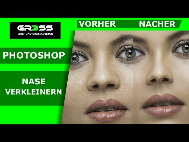 Nase verkleinern mit Photoshop 2 Möglichkeiten