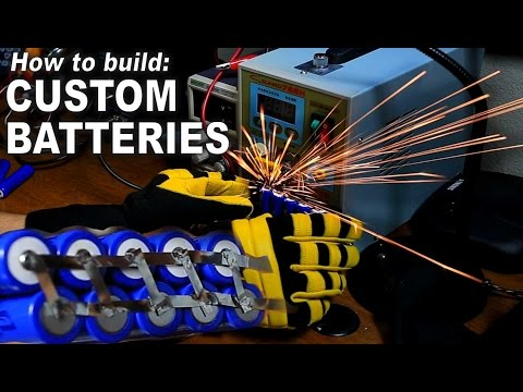 How to Build Custom Li-Ion Battery Packs