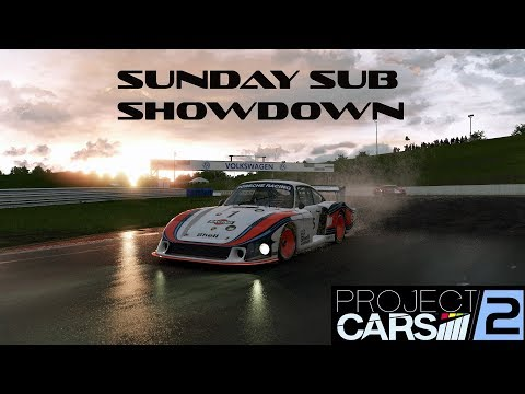 Project CARS 2: Moby Dick Porsche vs modern Racecars online!