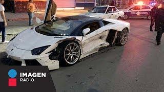 Dueño de Lamborghini perdona choque a taxista