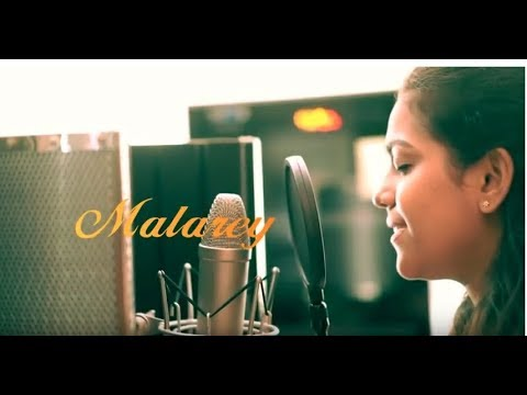 Malarey Mounama Cover Song With Lyrics | Lakshmi Pradeep & Ajin Tom