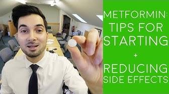 How To Take Metformin | How To Start Taking Metformin | How To Reduce Metformin Side Effects (2018)