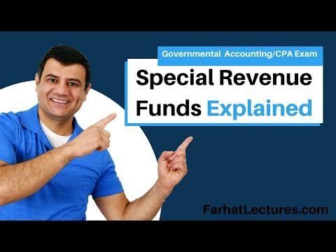 Special Revenue Funds | Governmental Accounting | CPA Exam FAR