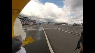 Roadtrip 2012: Auffahrt auf die Stena Carisma