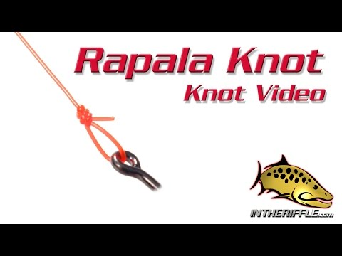 Rapala Knot - Loop Knot Tying Video - Fly Fishing Knots
