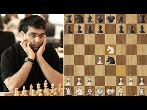 Anand spends 1:43 mins on 4th Move in...