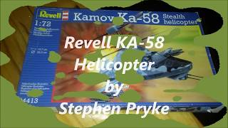 Gambar cover Revell KA-58 Helicopter 1/72 by Stephen Pryke