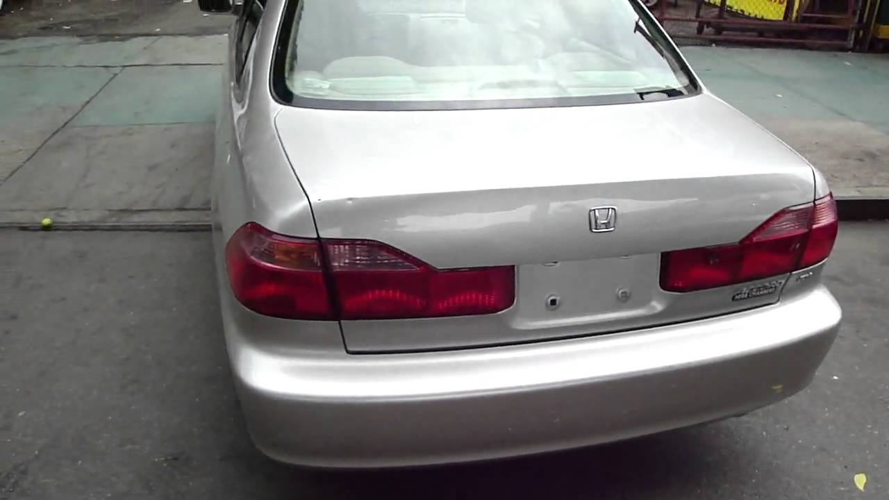 Nice 1999 Honda Accord EX Tommy Auto Sales, Inc. 4 Cylinder   YouTube