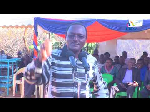 Kalonzo Musyoka says state plans to derail election