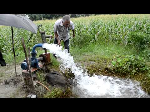 Solar Powered Irrigation Pump