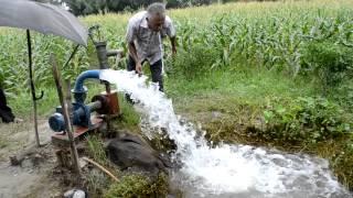 Solar Powered Irrigation Pump