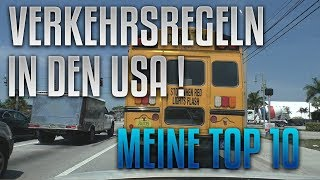 The BM – Verkehrsregeln in USA – Top 10 | VLOG 082 [English Captions]
