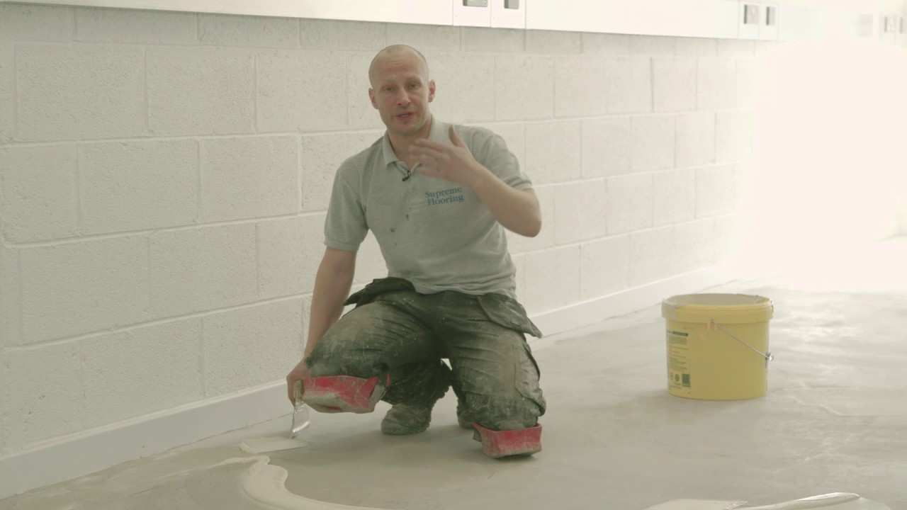 How To Glue Rubber Flooring You