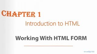 Introduction to HTML - Working with HTML Form