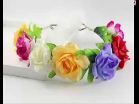 Flowers Jewelry Crown /Tiara Designs