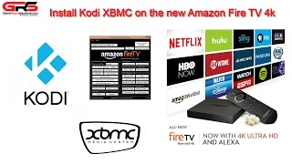 How to install Kodi on Fire TV 4k Fire TV 2 XBMC