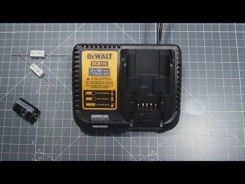 How To Convert Your 110v(120v) DCB115 DeWalt Charger To 220v(240v)