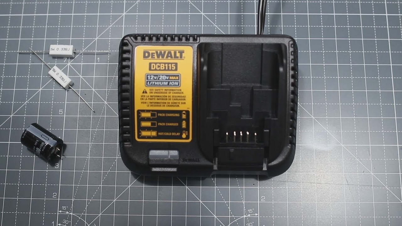 small resolution of how to convert your 110v 120v dcb115 dewalt charger to 220v 240v