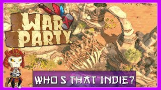 WARPARTY Gameplay Impression | Real Time Stone Age Dinosaur Strategy Game |