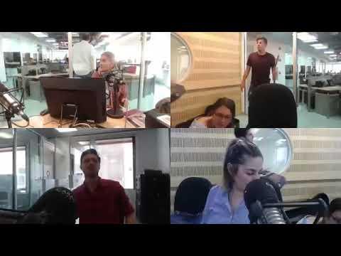 Joss Favela en la radio Caracol de Colombia