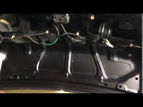 Кнопка багажника автомобиля Chevrolet Cruze седан мг 2012 2017