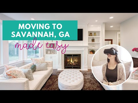 Homes for Sale in Savannah GA - Virtual Reality House Hunting