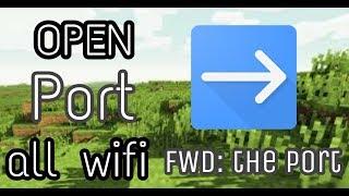 [pocketmine] cách mở port cho server Minercraft pe (all Wi-Fi)