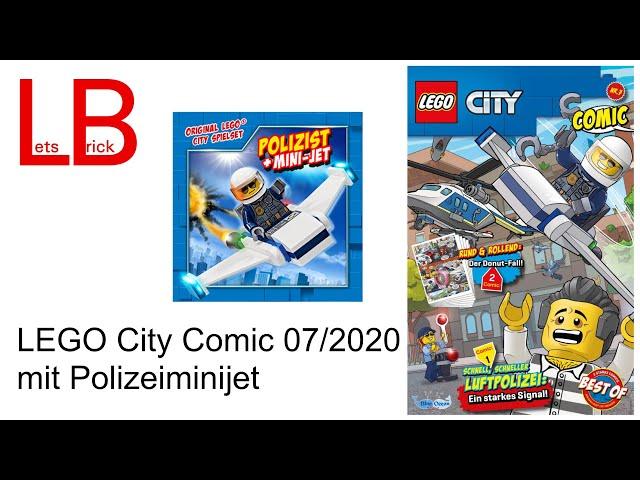 LEGO City Comic 07/2020 mit Polizeiminijet