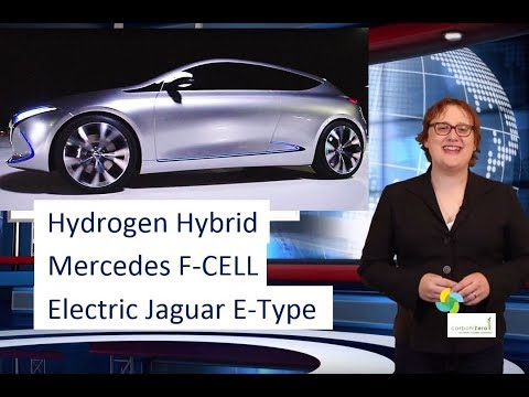 ecoTEC 19: Mercedes Plug-in Hybrid Hydrogen Fuel Cell GLC-F-