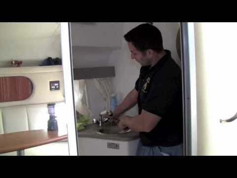 Winterizing The Water System on a Boat
