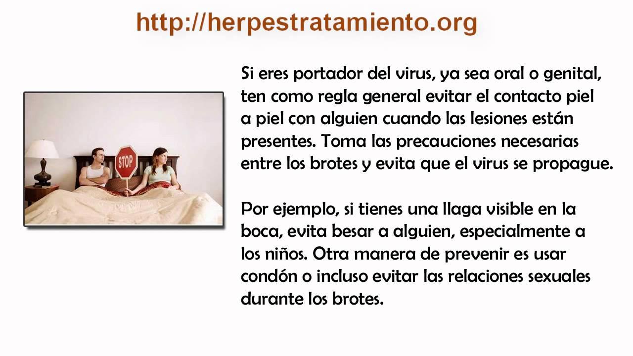 ¿Como se contagia el Herpes? - YouTube