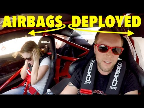 LOUD EXHAUST Makes Airbags BLOW at 140mph!!! **CRAZY**