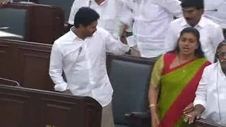 YS Jagan Signals Roja and YSRCP MLA