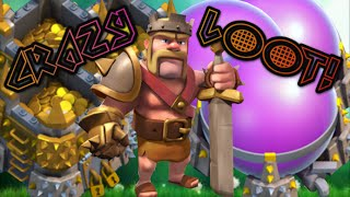 Clash of clans | Best farming attack strategy TH7 -  TH9! Over 500K LOOT IN 20 Minutes!