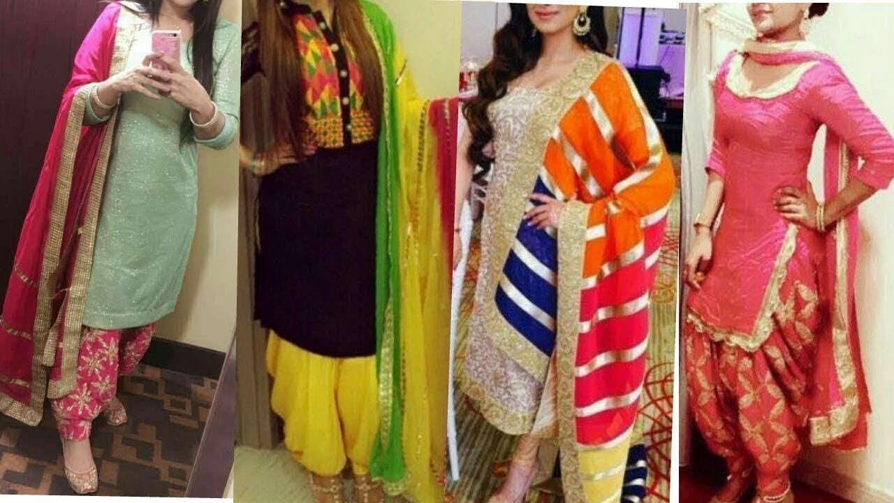 Punjabi Suits For Wedding Function Party Wear Punjabi Suit Designs 2018 Youtube,Simple Palm Tree Tattoo Designs