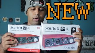 Focusrite Scarlett 2i4 Gen 2 & 1 Visual, and Sound Comparrison