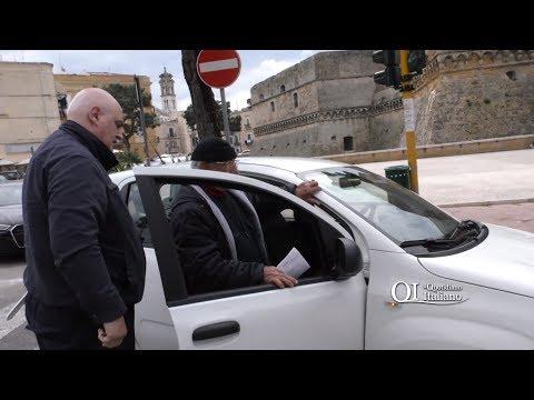 Abusivo a 80 anni con la pensione minima: multa di 5000 euro e sequestro dell'auto