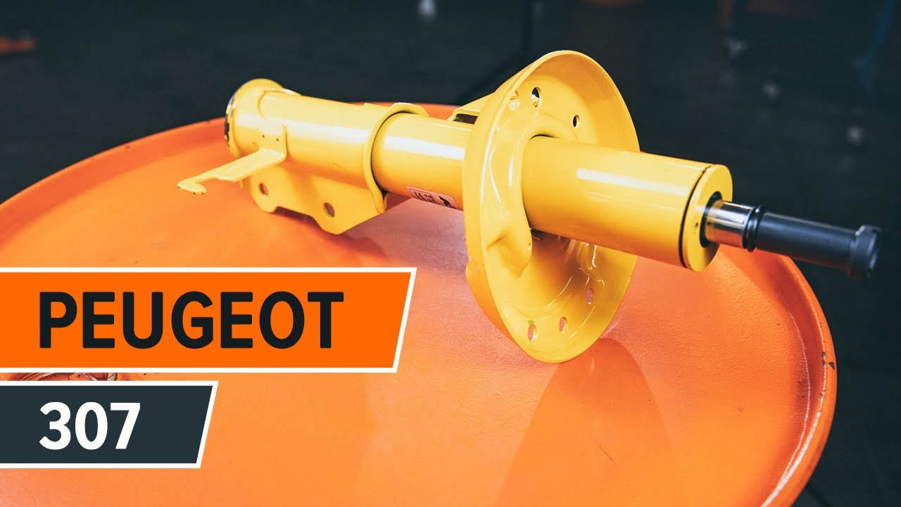how to replace front shock absorbers and shock absorber mount on
