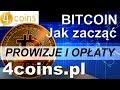 Bitcoin Jak Zacząć - Portfel BTC 4coins.pl Prowizja i ...