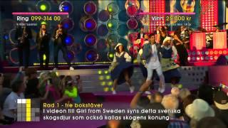 Скачать Eric Saade Girl From Sweden Sommarkrysset TV4