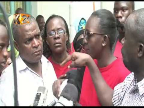Sex workers in Mombasa protest the murder of their colleague