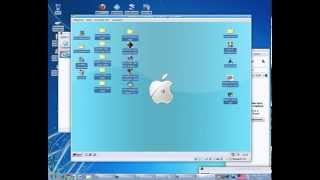 ubuntu-14.04 рабочий стол Xfce с темой в стиле Windows 7