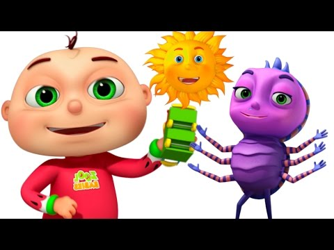 Itsy Bitsy Spider With Five Little Babies | Nursery Rhymes Collection | Kids Songs By Videogyan
