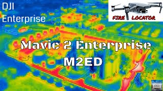 DJI Mavic 2 Enterprise Dual - Power Plant Inspection and Fire Located!