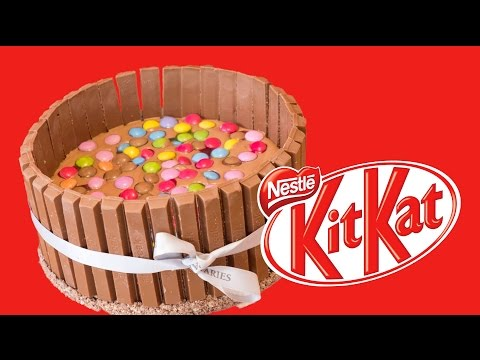recette-gâteau-kitkat---smarties-&-kit-kat-bar